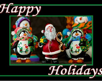 """Happy Holidays Fridge Magnet 3.25""""x2.25"""" Collectibles (PMD11002)"""