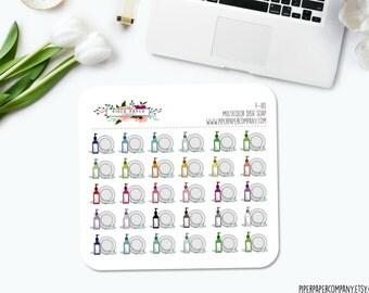 F-110 // Multicolor Dish Soap Sticker Set