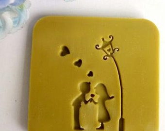 Couple under the lights, confession, design chapter, Chapter handmade soaps, silicone cake mold, baking mold, baking tools, chocolate molds,