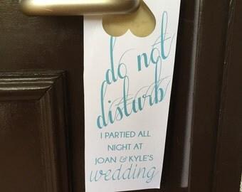 """Doorknob Hanger """"Do Not Disturb"""""""