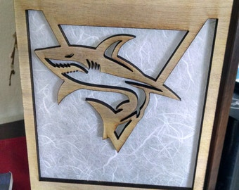 San Jose Sharks inspired Lamp (This is Sharks Territory, NHL)