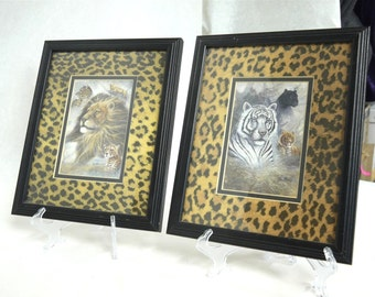 Two Framed And Matted Prints By Ruane Manning
