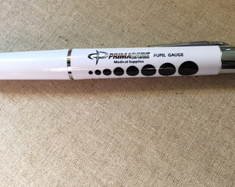 Reusable Pupil Gauge Penlight with Batteries