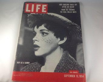 Life Magazine, Judy Garland, September 13, 1954