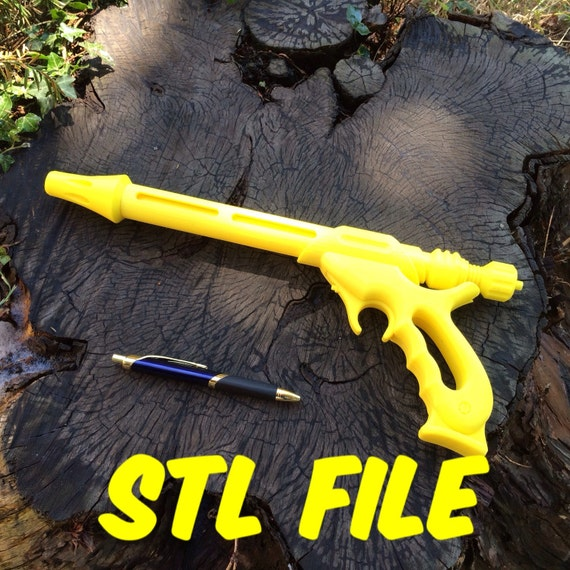 3D Printed Star Wars Jango Fett Blaster - STL Files - 3D Print File