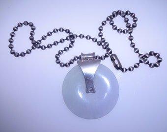 Jade Pendant with ball chain