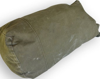 Vintage US Military Army Korean War Era Duffel Bag