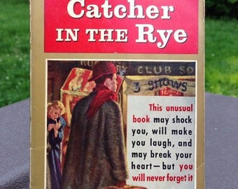 Catcher in the Rye by J D Salinger, 18th printing, October 1961