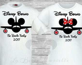 Custom Personalized Family Disney Vacation Shirts - Family Disney Bound Vacation Shirts