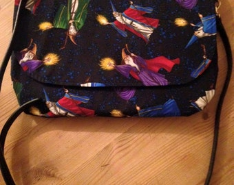 Wizard Messenger handmade bag