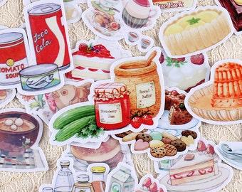 Planner Sticker - Mixed Food Starbucks Desserts