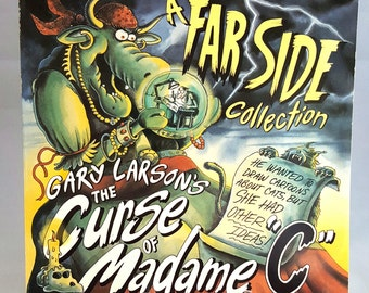 """A Farside Collection, Gary Larson's The Curse of Madame """"C"""", 1994 Printed in the U.S.A"""