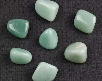 Natural green aventurine gemstone