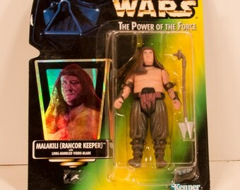 Star Wars POTF Malakili (Rancor Keeper) Action Figure