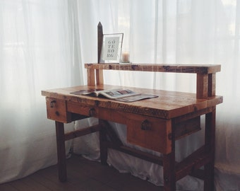 Reclaimed Wood Desk