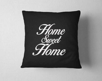 Home sweet Home, Throw pillow, 16x16 Decorative pillow, Home Sweet Home, Home decor, Sofa pillow, Pillows, Birthday gift idea, Sofa Cushion