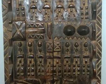 Large door dogon African Mali lofts