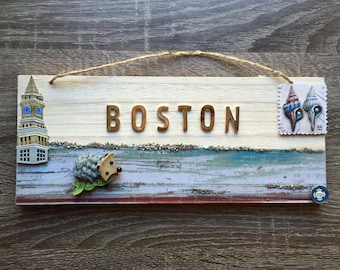 Custom Wooden Wall Hanging - Cottage Chic