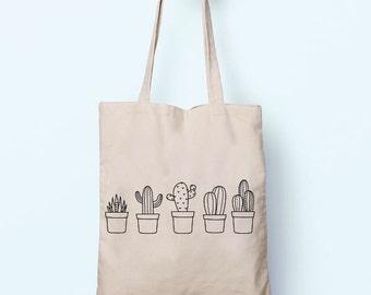 Cotton shopper | Etsy