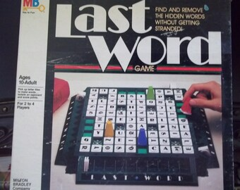 Last Word by Milton Bradley