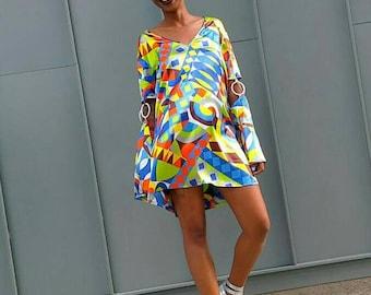 Vintage 1960s. 1970s. Dress