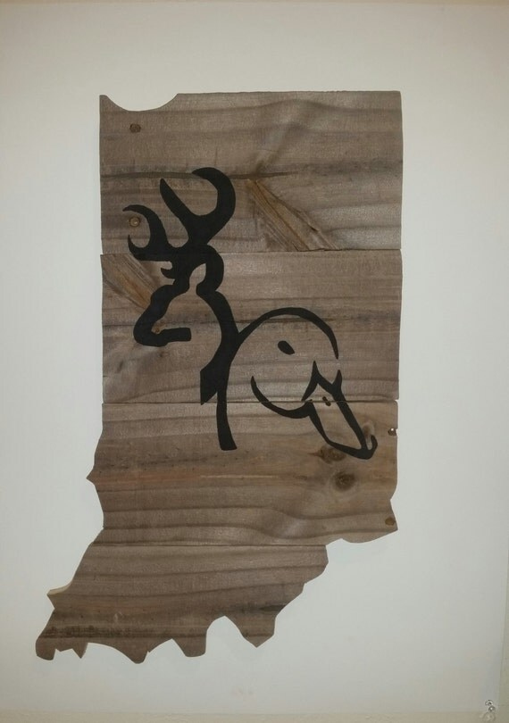Https Www Etsy Com Listing 268036283 Indiana Hunting Decor Duck Hunting Decor