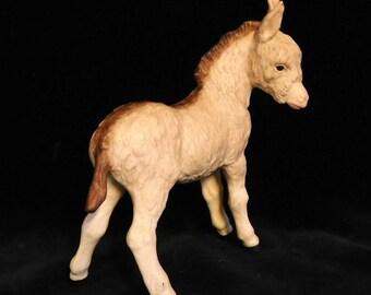 """Cybis porcelain donkey foal-- """"Fitzgerald"""""""