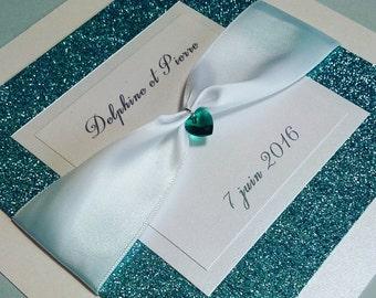 Sophia wedding invitation sample