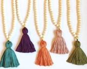 The Middleton Tassel Necklace