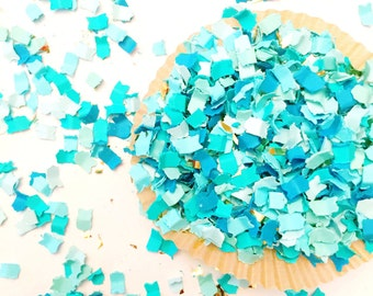 Confetti | Pacific Mix | Party Confetti | Turquoise and Blue Confetti | Party Decor
