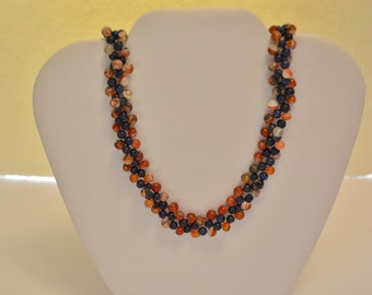 Glass Beaded 21in Necklace