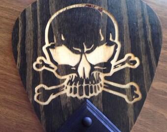 Skull Wall Mount Guitar Holder