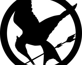 Hunger Games Vinyl Decal