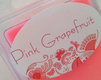 Pink Grapefruit Aromatherapy Melt - Natural