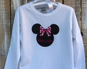 Minnie Tee - Personalized