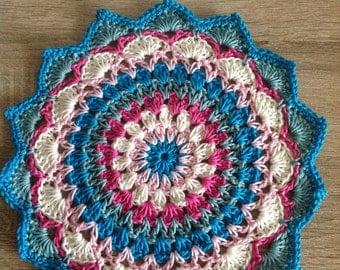 Pretty Crochet Mandala