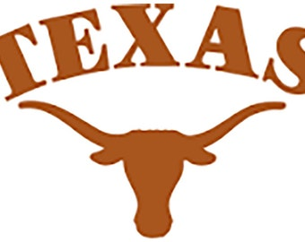 Texas Longhorns Vinyl Decal