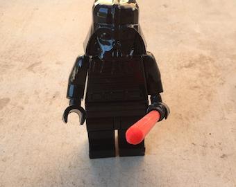 "Giant 8"" 3d printed Lego Darth Vader"