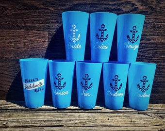 Bachelorette Weekend Cups