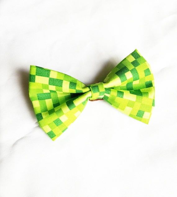 Pixel Bow Tie Pin On Bow Tie Pixelated Bow By