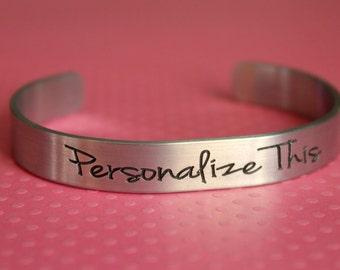 Engraved Bracelet Personalized Bracelet Customized bracelet Engraved Metal Bracelet Mothers Day Mother Grandmother Aunt Godmother Sister