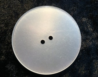Very Large Opaque Acrylic Button B0003
