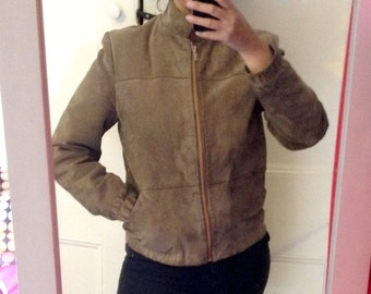 Vintage Suede Jacket by the Taupe Collection