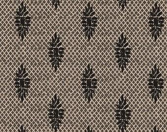Shower Curtain Boca Medallion Granite Black