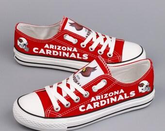 Arizona Cardinals Sneakers Cardinals Tennis shoes Red Cardinals shoes