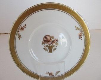 Royal Coppenhagen Butter Plate - Golden Basket - Made in Denmark