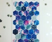 Out of this World - Hexagon stickers