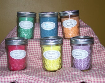 Handmade Soy Candles - 8 Ounce size