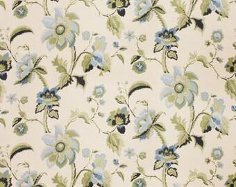 VERVAIN LA SPINETTA Floral Print Fabric 10 Yards Caribe