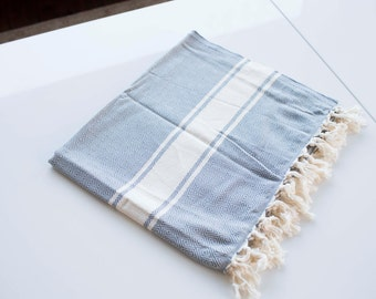 Turkish Towel - Peshtemal Chevron - 100% organic cotton